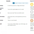 Awards Page - Frontend