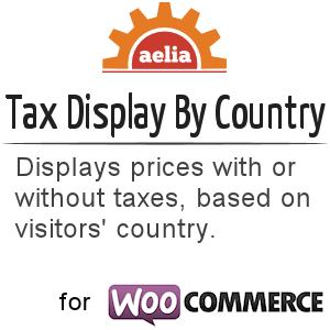 Tax Display by Country for WooCommerce 2.0.x/2.1x