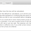 Tax Display by Country for WooCommerce - Tax Calculation Settings