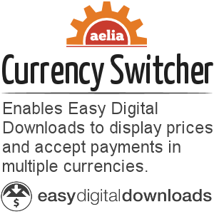 Currency Switcher for Easy Digital Downloads