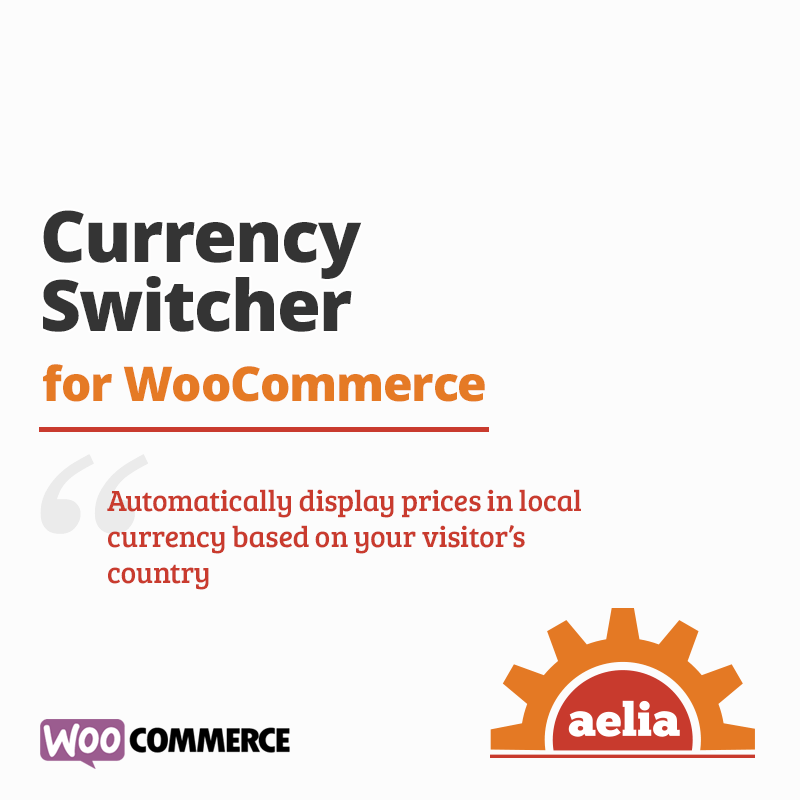 Currency Switcher Woocommerce Multi Currency Plugin