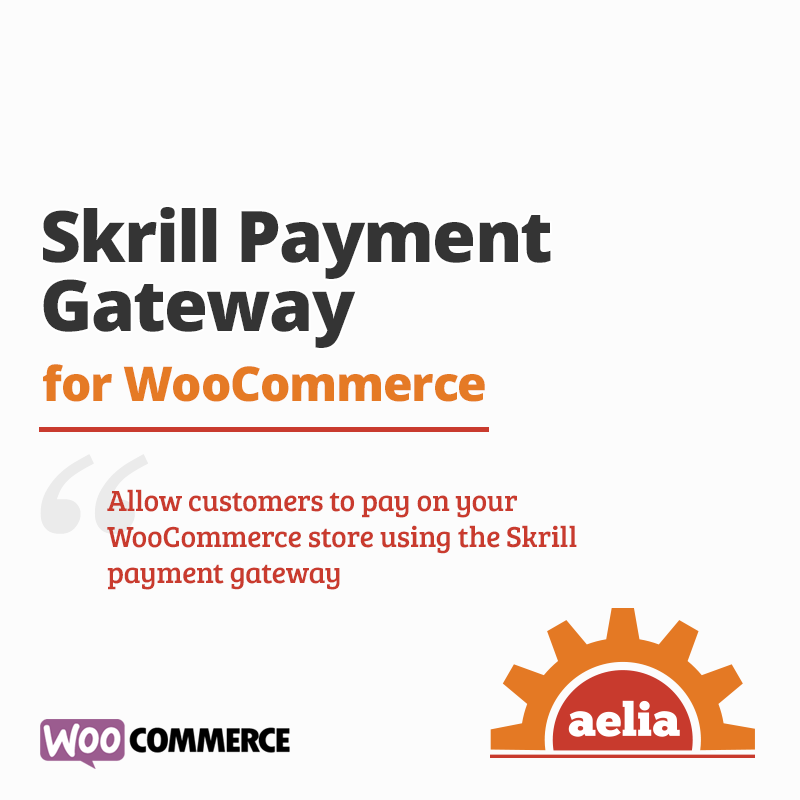 Skrill Gateway for WooCommerce