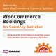 WooCommerce Dynamic Bookings Integration for Currency Switcher