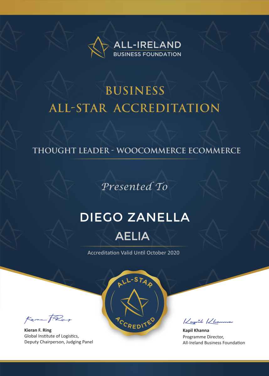 Business All-Star - Accreditation Certificate