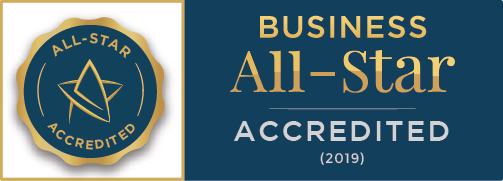 Business All-Stars Accredited badge