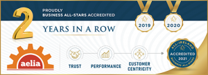 Business All-Stars Accredited badge 2020
